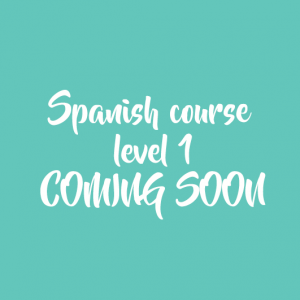 Spanish course level 1