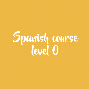 Spanish course level 0