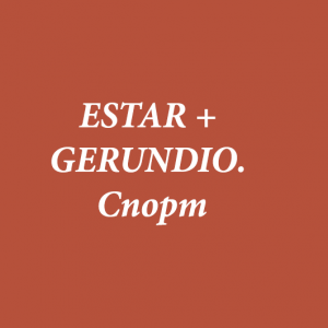 ESTAR + GERUNDIO. Спорт
