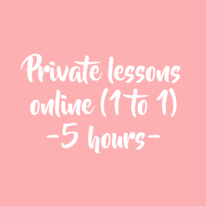 5 HOURS PRIVATE LESSONS (ALL LEVELS)