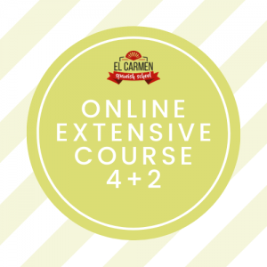 ONLINE EXTENSIVE COURSE: 4 HOURS/ GROUP + 2 HOUR/ PRIVATE (16 weeks)